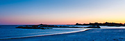 Fading light over Gooseberry beach, Newport, RI