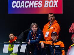 12-01-2019 NED: ISU European Short Track Championships 2019 day 2, Dordrecht<br /> Coach Jeroen Otter