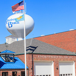 Rehoboth Beach, DE, USA - March 11, 2012: Rehoboth Beach Volunteer Fire Company station
