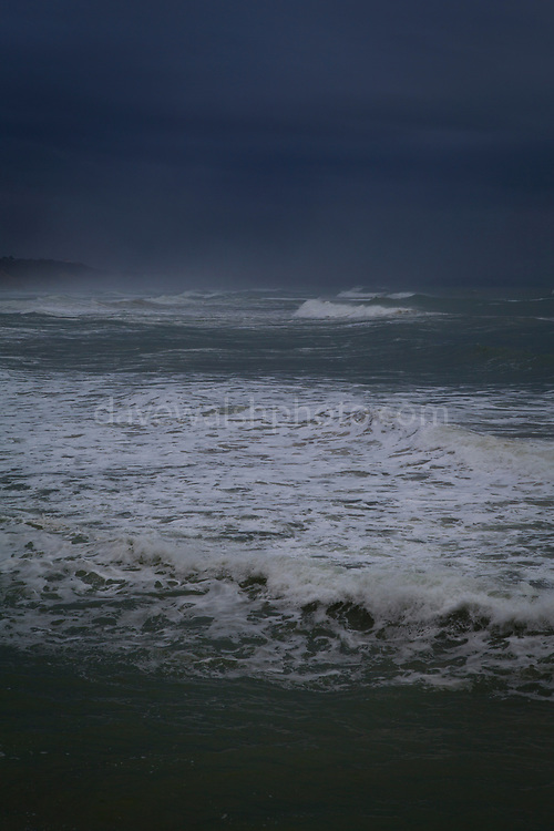 """Winter in Biarritz, with a wild Atlantic Ocean. This mage can be licensed via Millennium Images. Contact me for more details, or email mail@milim.com For prints, contact me, or click """"add to cart"""" to some standard print options."""