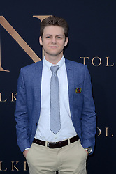 """""""Tolkien"""" L.A. Special Screening, Village Theater. 08 May 2019 Pictured: Ty Simpkins. Photo credit: David Edwards / MEGA TheMegaAgency.com +1 888 505 6342"""
