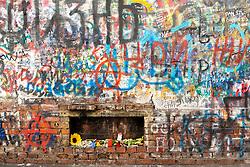 stock photo of a graffti in russia