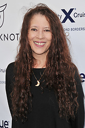 Tai Babilonia arrives at Jessie Tyler Ferguson's 'Tie The Knot' 5 Year Anniversary celebration held at NeueHouse Hollywood in Los Angeles, CA on Thursday, October 12, 2017. (Photo By Sthanlee B. Mirador/Sipa USA)