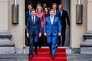 Presentatie nieuw kabinet