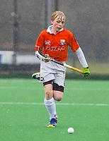 20170319 BLOEMENDAAL - landelijke jeugdcompetitie Bloemendaal Jongens JA1-Schaerweijde jongens JA1 (2-8). Klaas Jan Sicking. . COPYRIGHT KOEN SUYK