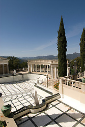 California, San Luis Obispo County: Hearst Castle State Park, formerly the palatial hillside home of publisher William Randoph Hearst. Swimming pool..Photo caluis213-71254..Photo copyright Lee Foster, www.fostertravel.com, 510-549-2202, lee@fostertravel.com