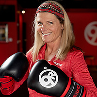 01/29/2020 -<br /> <br /> Lynnette Spinelli at 9Round photographed at the Market Street location.<br /> <br /> Photo by Michael Cline Spencer