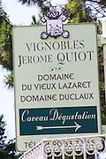 domaine du vieux lazaret chateauneuf du pape rhone france