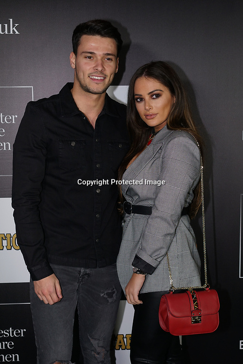 London, UK. 2nd November 2017. Myles Barnett and Courtney Green attends Day of the Dead at Leicester Square Kitchen, London, UK