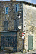 Street scene at St Martin de Re,  Ile de Re, France