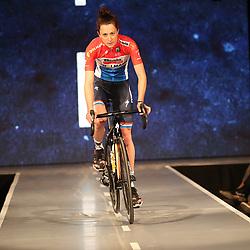 19-01-2017: Wielrennen: Persmoment Boels Dolmans: Valkenburg   <br />VALKENBURG (NED) wielrennen<br />In Chateau Sint Gerlach waar de groten der aarde overnachten presenteerde het Boels-Dolmans Womens Cyclingteam zich aan pers en genodigden; Cristine Majerus