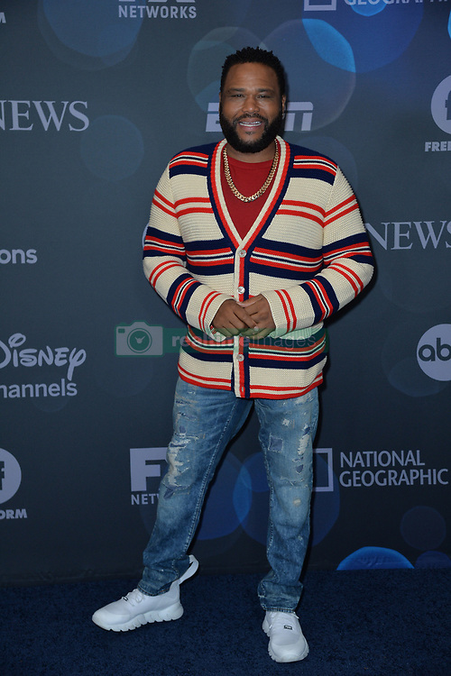 May 14, 2019 - New York, NY, USA - May 14, 2019  New York City..Anthony Anderson attending Walt Disney Television Upfront presentation party arrivals at Tavern on the Green on May 14, 2019 in New York City. (Credit Image: © Kristin Callahan/Ace Pictures via ZUMA Press)