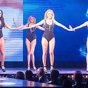 NLD/Hilversum/20160926 - Finale Miss Nederland 2016, Kelly van den Dungen, Tiffany van der Zon, Jessica Wohrmann, Denise Zwier