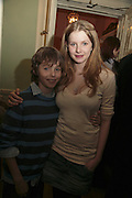 PATRICK HURD -WOOD AND RACHEL HURD-WOOD, PARTY AT DARTMOUTH HOUSE AFTER A PREMIERE SCREENING OF PERFUME AT THE CURZON. LONDON.<br />