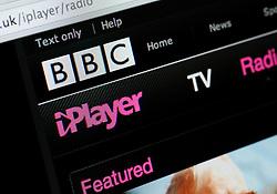 Detail of screenshot from website of BBC iPlayer entertainment media website
