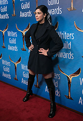 February 17, 2019 - Beverly Hills, California, U.S - Sarah Silverman in the red carpet of the 2019 Writers Guild Awards at the Beverly Hilton Hotel on Sunday February 17, 2019 in Beverly Hills, California. JAVIER ROJAS/PI (Credit Image: © Prensa Internacional via ZUMA Wire)