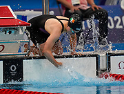 Irelands Ellen Walshe, Women's 100m Butterfly heat, Tokyo Aquatics Centre. Tokyo 2020 Olympic Games. Saturday 24th July 2021. Mandatory credit: © John Cowpland / www.photosport.nz
