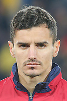 CLUJ-NAPOCA, ROMANIA, MARCH 26: Romania's national soccer player Romario Benzar pictured before the 2018 FIFA World Cup qualifier soccer game between Romania and Denmark, on March 26, at Cluj Arena Stadium, in Cluj-Napoca, Romania. (Photo by Mircea Rosca/Getty Images)