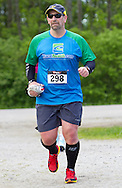 Augusta, New Jersey - A runner on the course during the 3 Days at the Fair races at Sussex County Fairgrounds on May 11, 2012.