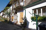 Farm houses at Morbish - am - see, Neusiedler See, Austria