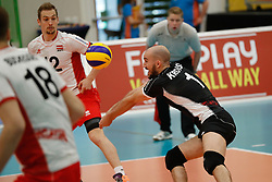 20170525 NED: 2018 FIVB Volleyball World Championship qualification, Koog aan de Zaan<br />Philipp Kroiss (1) of Austria<br />©2017-FotoHoogendoorn.nl / Pim Waslander