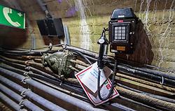 THEMENBILD - ein Service Telefon im Inneren der Staumauer Mooserboden, aufgenommen am 15. Juni 2017, Kaprun, Österreich // a service phone inside the dam Mooserboden on 2017/06/15, Kaprun, Austria. EXPA Pictures © 2017, PhotoCredit: EXPA/ JFK