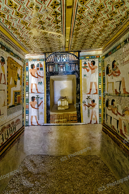 TT69 is the burial place of the Ancient Egyptian official named Menna, whose titles included 'Overseer of Fields of Amun', and 'Overseer of Fields of the Lord of the Two Lands'