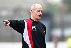 Annan Athletic's manager Harry Cairney..Berwick Rangers 0 v 1 Annan Athletic, 1/10/2011..Pic © Michael Schofield.