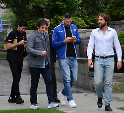 May 31, 2018 - Shanghai, Shanghai, China - Shanghai, CHINA-31st May 2018: Italian former professional footballer Marco Materazzi walks on street in Shanghai, China, May 31st, 2018. (Credit Image: © SIPA Asia via ZUMA Wire)
