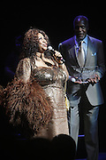 14 June 2010- Harlem, New York- l to r: Aretha Franklin and Danny Glover at The Apollo Theater's 2010 Spring Benefit and Awards Ceremony hosted by Jamie Foxx inducting Aretha Frankilin and Michael Jackson, and honoring Jennifer Lopez and Marc Anthony co- sponsored by Moet et Chandon which was held at the Apollo Theater on June 14, 2010 in Harlem, NYC. Photo Credit: Terrence Jennngs/Sipa
