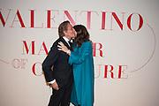 VALENTINO; ALEX SHULMAN Valentino: Master of Couture - private view. Somerset House, London. 28 November 2012