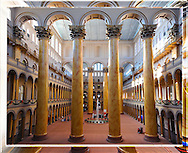 The Atrium of The Building Museum, Washington DC <br />
