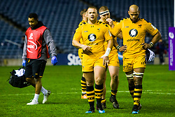 Tom Cruse of Wasps at full time - Mandatory by-line: Ewan Bootman/JMP - 06/12/2019 - RUGBY - Murrayfield - Edinburgh, England - Edinburgh Rugby v Wasps - European Rugby Challenge Cup
