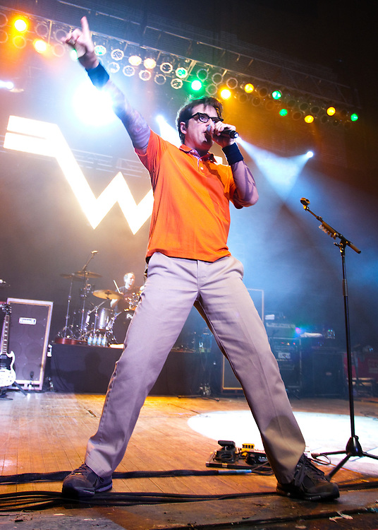 Weezer at Riot Fest 2011 at Chicago Congress Theater