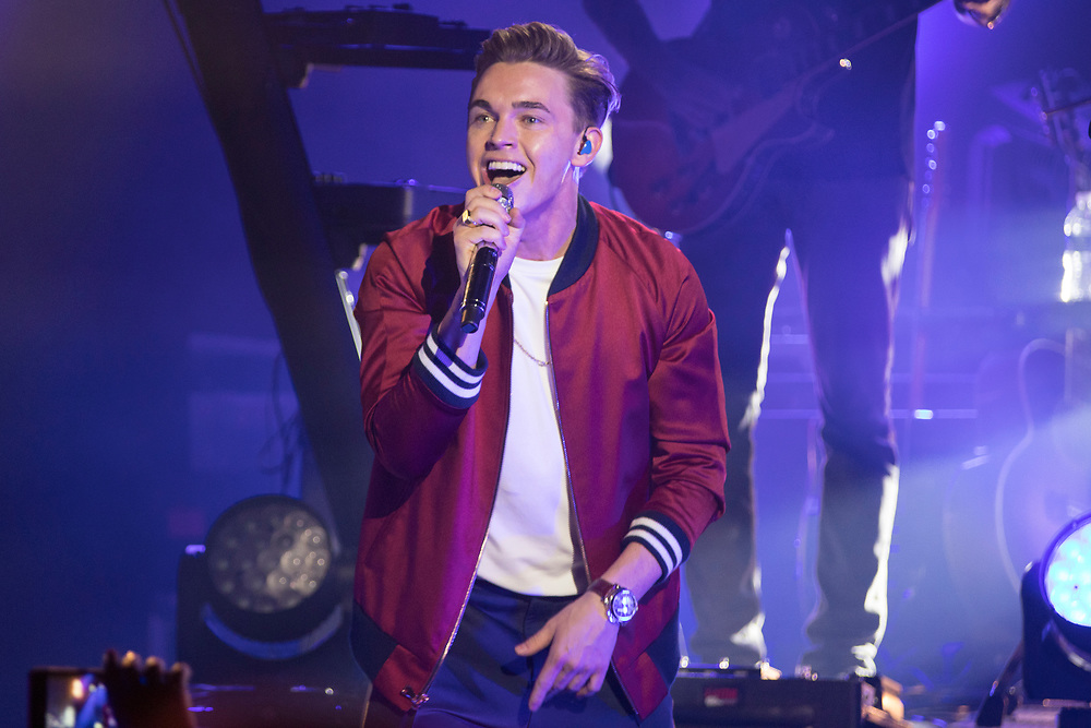 Jesse McCartney brings his Better With You Tour to the Majestic Theatre in Madison, WI on July 13, 2018.