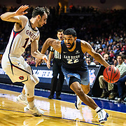 Mar 11 2019  Las Vegas, NV, U.S.A. San Diego guard Isaiah Wright (22) drives to the basket during the NCAA  West Coast Conference Men's Basketball Tournament semi -final between the San Diego Toreros and the Saint Mary's Gaels 62-69 lost at Orleans Arena Las Vegas, NV.  Thurman James / CSM