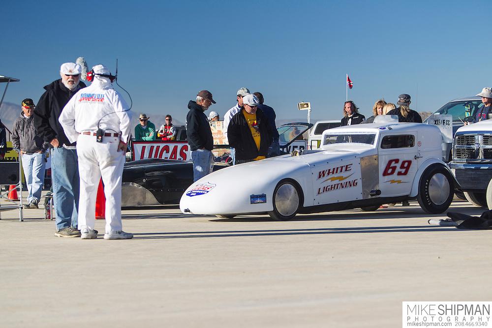 Lattin & Stevens, 69, White Lightning, eng XXF, body FCC, driver Bill Lattin, 182.004, previous record 160.000
