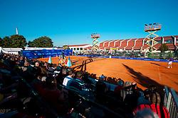 Main court during day one of the ATP Challenger  BMW Ljubljana Open 2010, on September 21, 2010,  in TC Ljubljana Siska, Slovenia.  (Photo by Vid Ponikvar / Sportida)