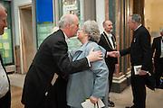 CHARLES SAUMAREZ SMITH; DAME ANTONIA BYATT, Royal Academy Annual Dinner 2013. Piccadilly. London. 4 June 2013.
