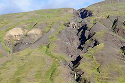 Islaendische tektonische Kontinetalspalte zwischen Europa und Amerika, divergent tectonic boundary between the North American and Eurasian plates, Island, Iceland