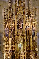 Espagne, Pays Basque, Guipuscoa, Fontarrabie, l'église de la Asunción y del Manzano // Spain, Basque Country, Guipuscoa, Hondarribia, the church of La Asunción y del Manzano