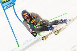 March 9, 2019 - Kranjska Gora, Kranjska Gora, Slovenia - Andreas Zampa of Slovakia in action during Audi FIS Ski World Cup Vitranc on March 8, 2019 in Kranjska Gora, Slovenia. (Credit Image: © Rok Rakun/Pacific Press via ZUMA Wire)