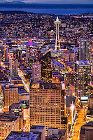 Space Needle & Downtown, Blue Hour
