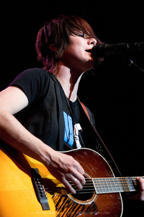 Sonia Leigh performs as one of the opening acts for Zac Brown's Breaking Southern Ground Tour