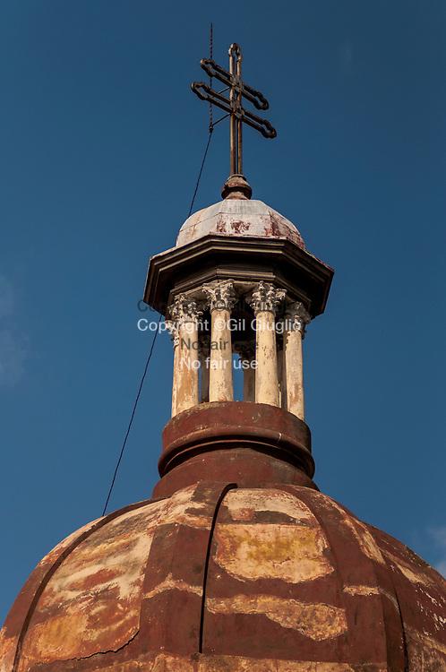 Cuba, Santiago de Cuba, centre historique, Cathédrale Notre-Dame de l'Assmption // Cuba, Santiago de Cuba, old historic city center, Our Lady of the Assumption cathedral