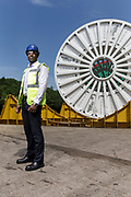 Thursday 7th June 2018, Aberdeen, Scotland. <br /> <br /> BHGE Flexible pipe solutions have a proven track record spanning many decades and are designed to address the challenges of today's subsea and FPSO-based projects.<br /> <br /> (Photo: Ross Johnston/Newsline Media)