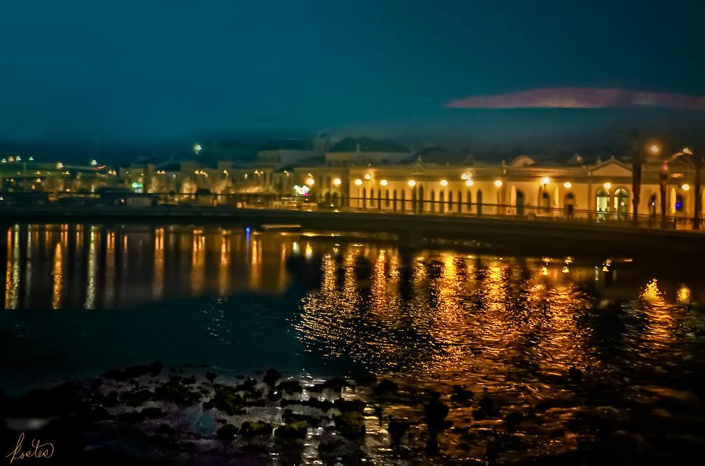 Twilight on the River, Tavira, Portugal