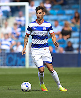 Queens Park Rangers' Grant Hall during the pre-season friendly match at Loftus Road, London.