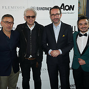 London,England,UK : Mexican Ambassador Mr Diego Gómez Pickering and Elliot Grove attend the Raindance Filmmakers Ball by London Flair Pr at Cafe De Paris  in London. Photo by See Li