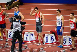 07.03.2015, O2 Arena, Prag, CZE, Europäische Athletik Innenmeisterschaften 2015, im Bild 60m men, bieg na 60m, Christian Blum GER // during European Athletics Indoor Championships O2 Arena in Prag, Czech Republic on 2015/03/07. EXPA Pictures © 2015, PhotoCredit: EXPA/ Newspix/ Lukasz Skwiot / Foto Olimpik<br /> <br /> *****ATTENTION - for AUT, SLO, CRO, SRB, BIH, MAZ, TUR, SUI, SWE only*****